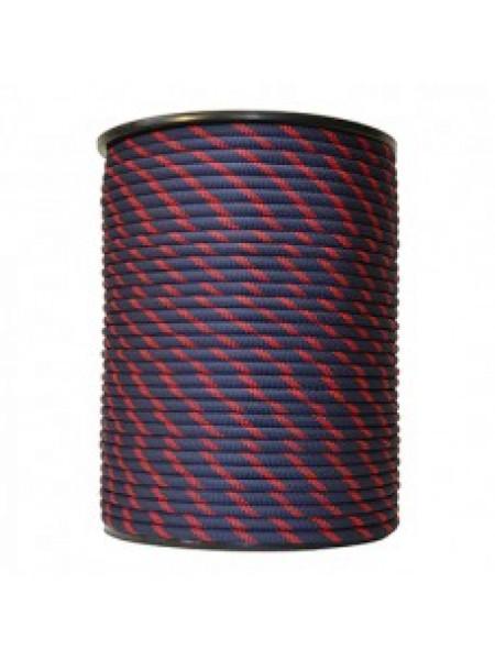 Шнур 10мм полипропиленовый плетёный с сердечником 24пр.