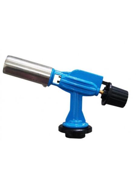 Горелка пьезо Металл 9001 Синяя