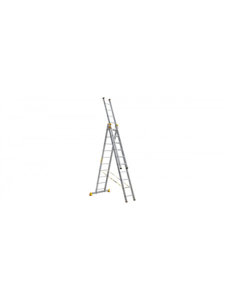 Лестница трехсекционная Профи 367/645/927 см