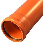 Труба канализационная RISPA оранжевая