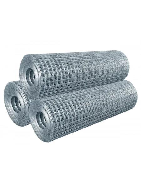 Сварная сетка 50х100 мм  2,0 x 50 м, d 2,5 мм