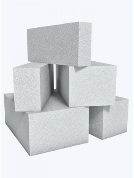Блок газобетонный 625х250х100 мм