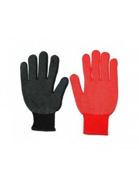 Перчатки Нейлон 2-й сорт (жолт-белые-серые-чёрные)