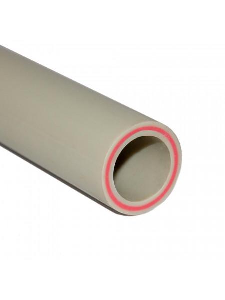 Труба PN20 (SDR7,4) 20мм (стекловолокно) Tebo Серый 4м, м