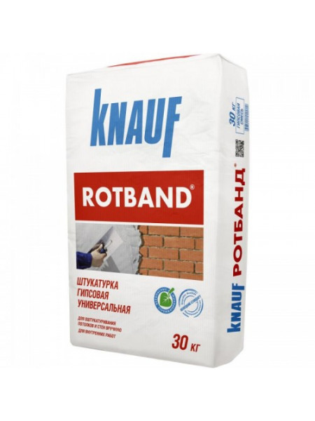 Rotband Knauf штукатурка 30 кг