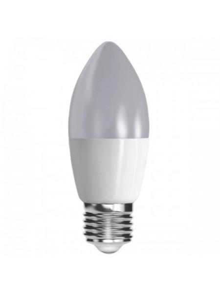 Лампа FL-LED светодиодная энергосберегающая 7,5W 700Лм 37х108мм СВЕЧА С37 Е27 220V