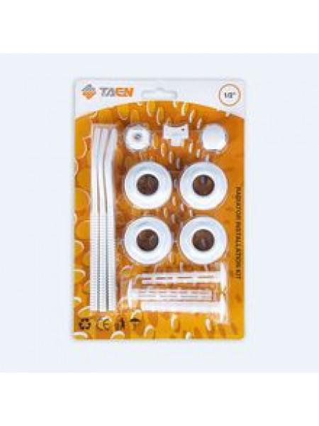 Комплект для монтажа радиаторов с 2-я кронштейнами 1/2 TAEN