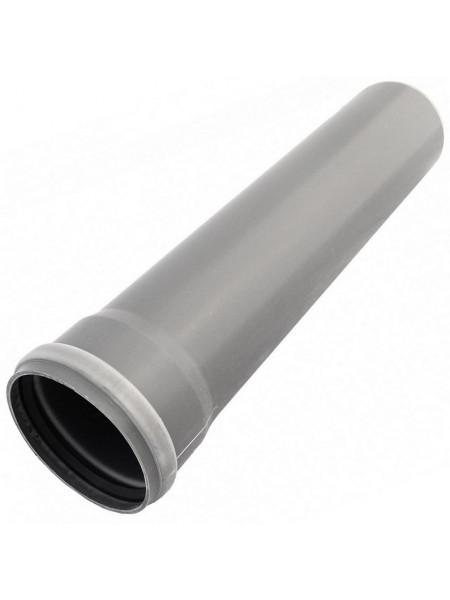 Труба Д50 = 1,0м (Канализац. полипр.), шт