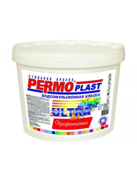 Краска PERMOPLAST Ультра для внутренних и внешних работ 1 кг