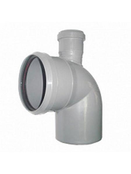 Отвод канализационный 110х50 мм 50 градусов