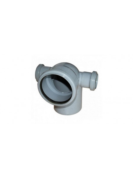 Отвод канализационный 110х50 мм 90 градусов (право+лево)