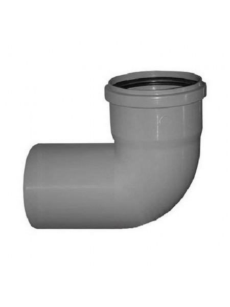 Отвод Д 50х90гр (канализ.), шт