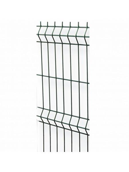 Секция заборная зел d-3 яч60х200мм (2х2,5)м, шт