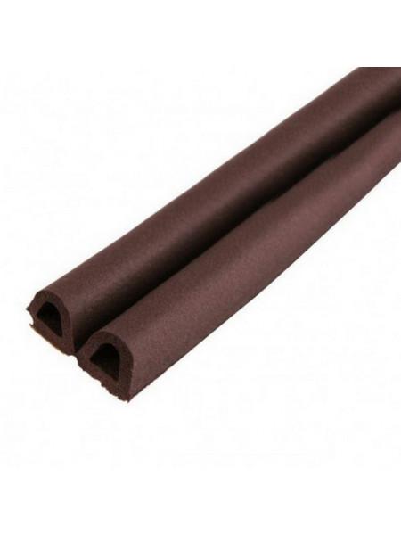 Уплотнитель Kimtek D коричневый 9х8мм , м