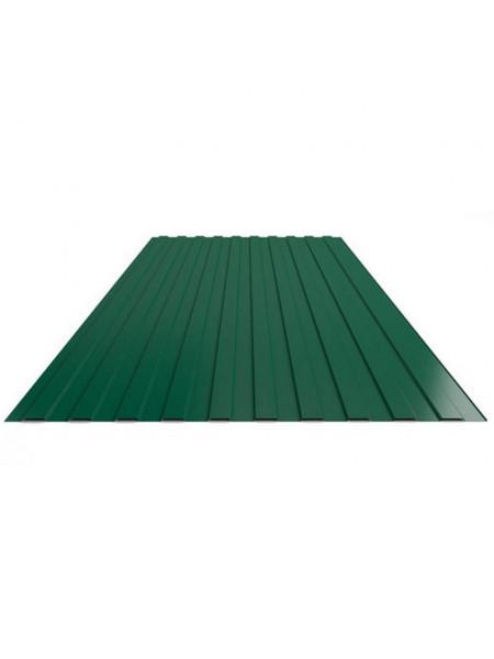 Профнастил С-8 зелёный  1,2х2 0,4мм, шт