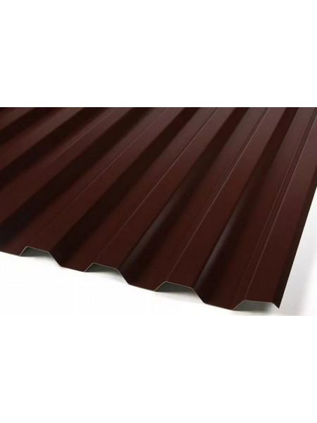 Профнастил С-8 шоколад 1,2х2 м 0,4 мм