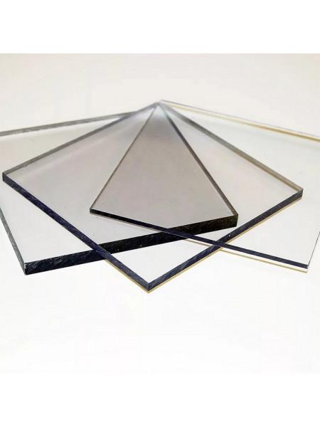 монолитный поликарбонат 2мм прозрачный Kinplast  2,05х3,05м, шт