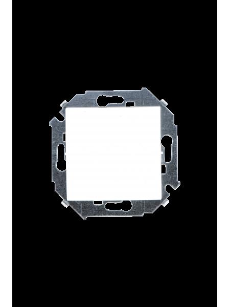 Выключатель 1 клав. бел. Lezard модульный