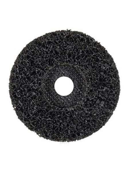 Круг нейлоновый 125х22 плоский чёрный, шт