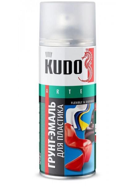 Аэрозоль KUDO Белая для пластика