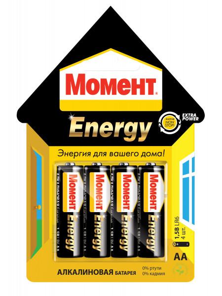 Батарейки АА Момент Энерджи 1,5В