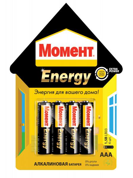 Батарейки ААА Момент Энерджи 1,5В