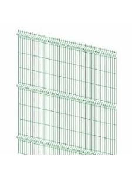 Секция заборная 1530х2500мм d3,2 зелён.