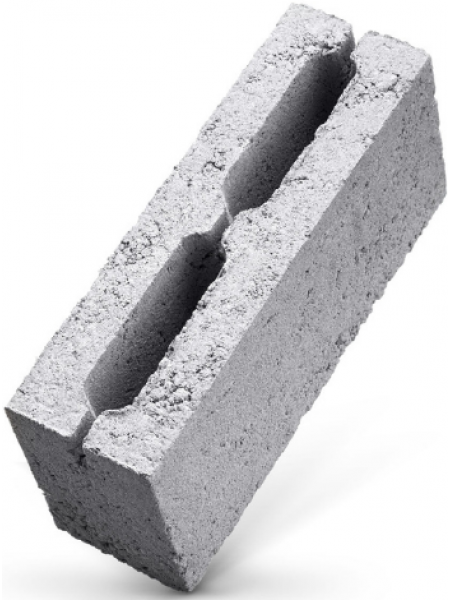 Полублок отсевной (шлакоблок) 40/10 см