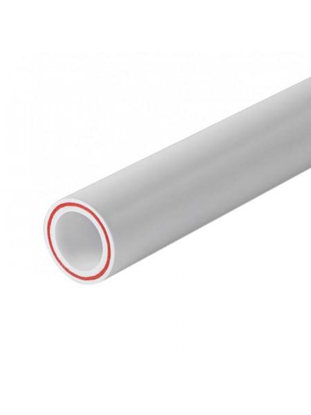 Труба PN20 (SDR7,4) 20мм (стекловолокно) Tebo белый 4м, м