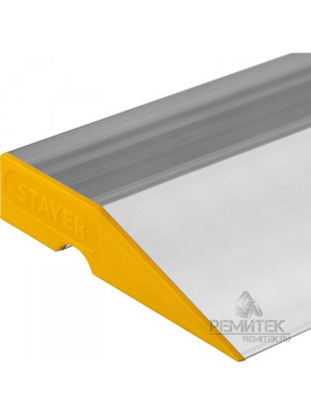 """Правило """"STAER PROFI"""" алюминиевое с уровнеV L-2,5м 2 ручки, шт"""